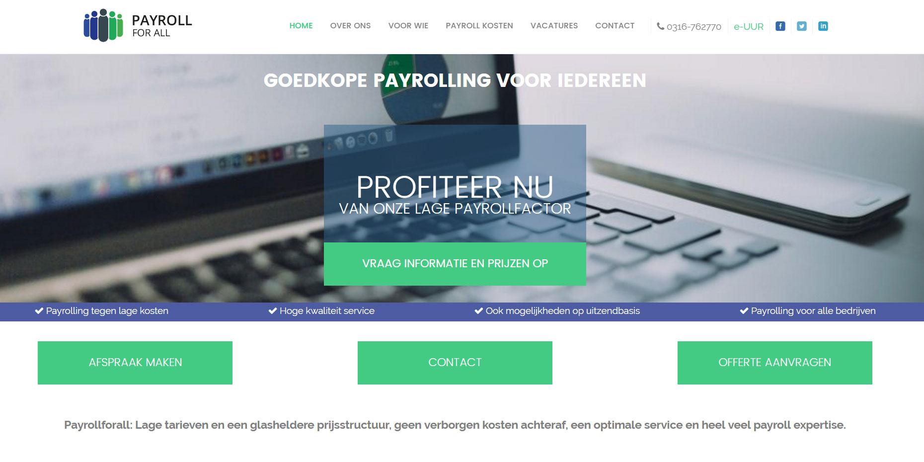 webdesign payrollforall