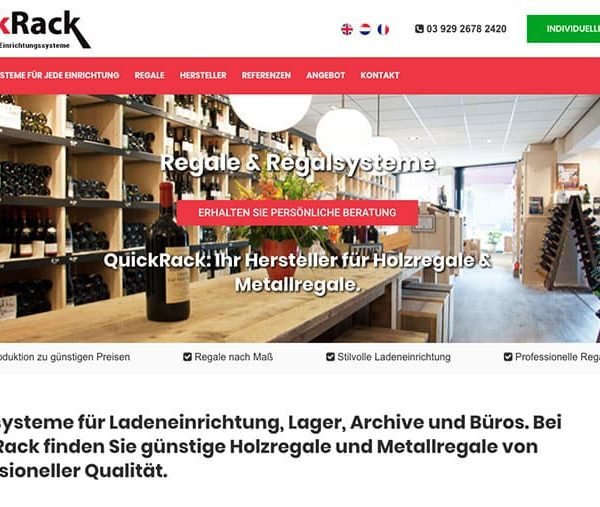 quickrack-holzregale