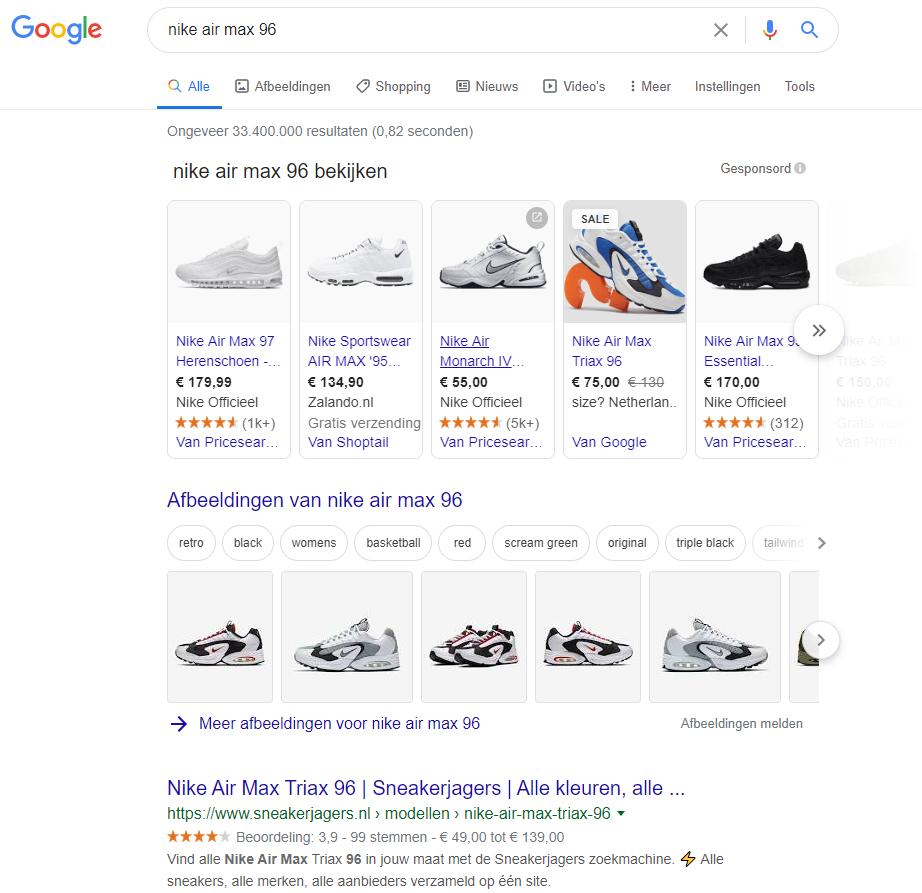 Google-shopping-haarspullen.nl